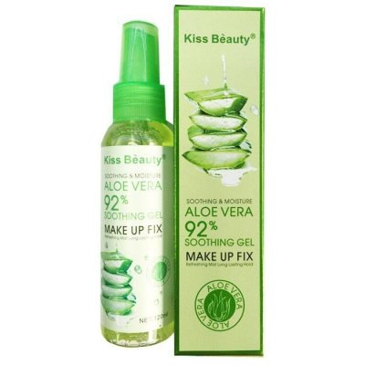 Фиксатор макияжа Kiss Beauty 92% Aloe Vera Make Up Fix 120 ml