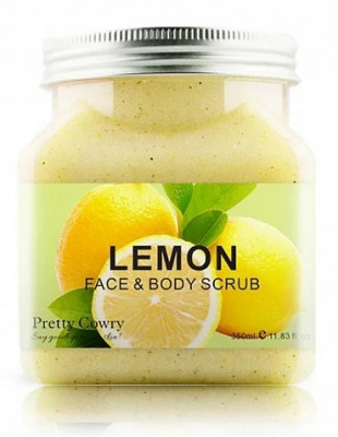 СКРАБ ДЛЯ ТЕЛА И ЛИЦА PRETTY COWRY LEMON С ЭКСТРАКТОМ ЛИМОНА