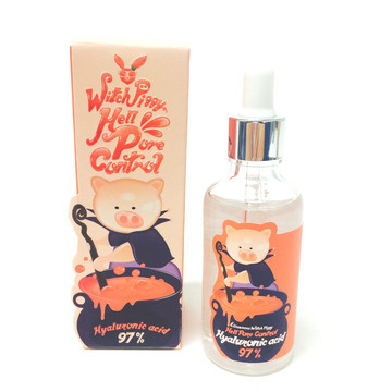Сыворотка для лица Elizavecca WITCH PIGGY HELL PORE CONTROL HYALURONIC ACID 97% SERUM 50ML KOREA ORIGINAL