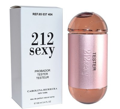 Тестер Carolina Herrera 212 Sexy, 100 ml